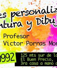 Dibujo y pintura Victor Porras